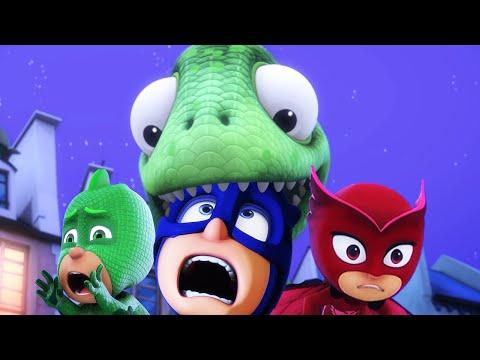 PJ Masks Full Episodes Season 3  Giant Gekko  PJ Masks New Compilation 2019