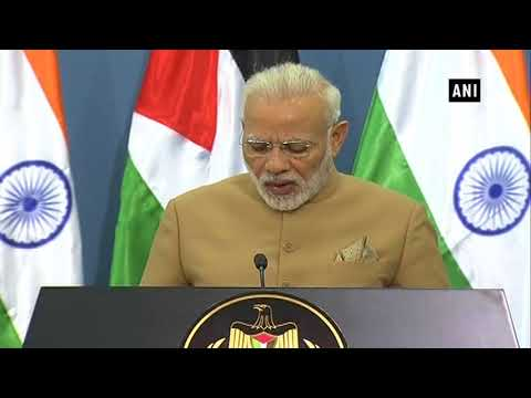 PM Modi assures Palestinian President of taking care of Palestinian people's interests