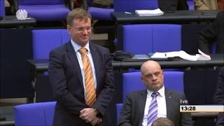 Anton Hofreiter (GRÜNE)  und Dr. Dirk Spaniel (Afd) SChlagabtausch wegen Abgasskandal