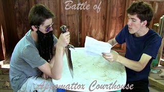 The Battle of Appomattox Courthouse