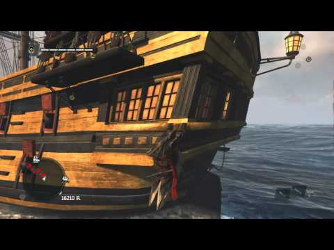 Assassins Creed Freedom Cry Big Ship Battle
