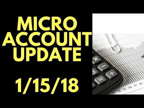 Micro Account: Verge Update, Buying Digibyte