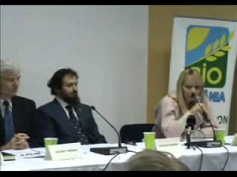 Daciana Sarbu la Romanian Organic Forum 2010
