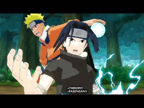 Naruto Uzumaki & Sasuke Uchiha vs Gaara - Naruto Ultimate Ninja Storm Legacy (PC)