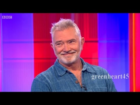 Martin Shaw on The One Show - 17 April 2015