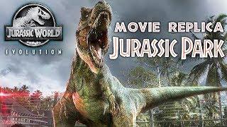 Jurassic World Evolution: Jurassic Park  Recreation! (Movie Replica)