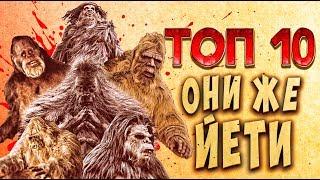 ТОП 10 Фильмы про снежного человека | TOP 10 Sasquatch movie