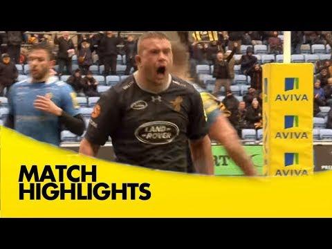 Wasps V London Irish - Aviva Premiership Rugby 2017-18