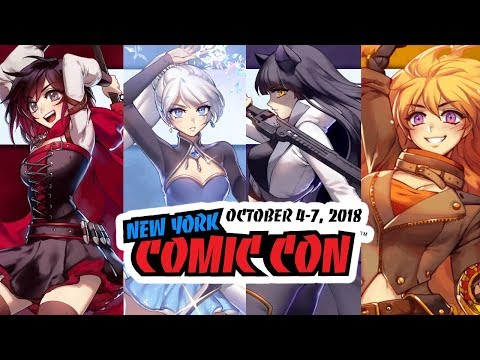 RWBY Volume 6 - SNEAK PEEK, New Grimm, Ruby Development and More!!! (NYCC 2018)