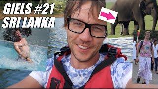 #21 GIELS vakantie Sri Lanka vlog  'Hakkuh in de tempel'