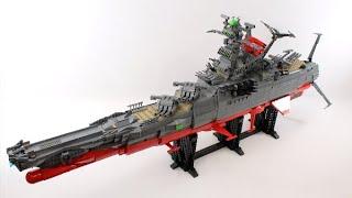 Star Blazers: Space Battleship Yamato - LEGO® Build Timelapse