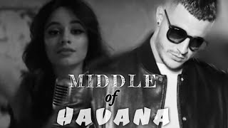 Camila Cabello, DJ Snake ft. Bipolar Sunshine - Middle Of Havana/Middle x Havana (mashup [mv])