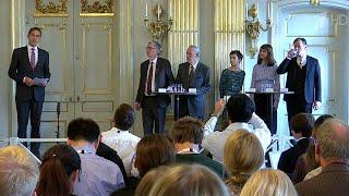 В Стокгольме огласили имена лауреатов Нобелевской премии по литературе.