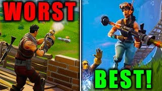 RANKING EVERY GAMEMODE FROM WORST TO BEST! (Fortnite Battle Royale)