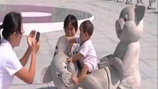 "Sculpture in China shows pigs having sex doggy-style, represents ""filial piety"""