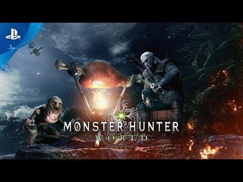 Ведьмак Геральт посетит мир Monster Hunter