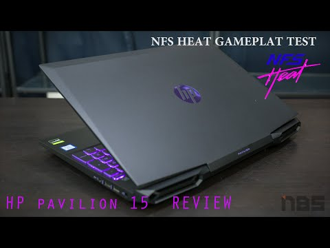HP Pavilion Gaming Laptop 9th Generation  | GTX 1650 and i5-9300h with NFS HEAT Gameplay Test