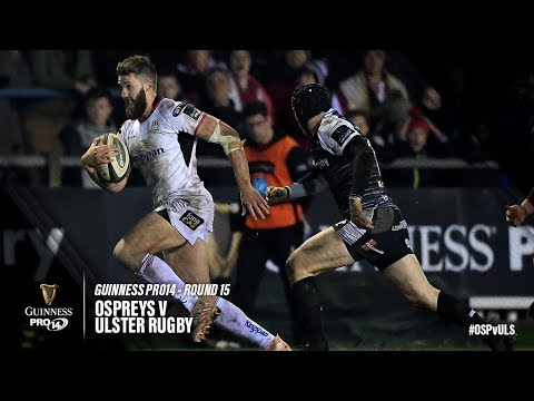 Guinness PRO14 Round 15 Highlights: Ospreys v Ulster Rugby