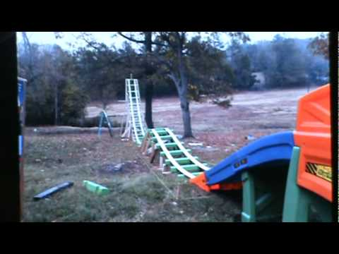 Charmant How To Build A Homemade Rollercoaster