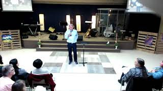 James Jordan at River Community Church, BC Canada, 2018