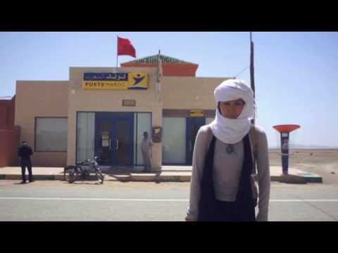 旅する鈴木363:Going to the post office @Morocco