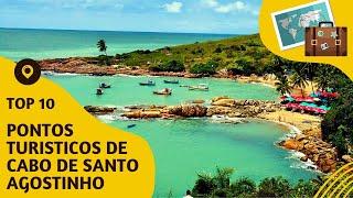10 pontos turisticos mais visitados de Cabo de Santo Agostinho