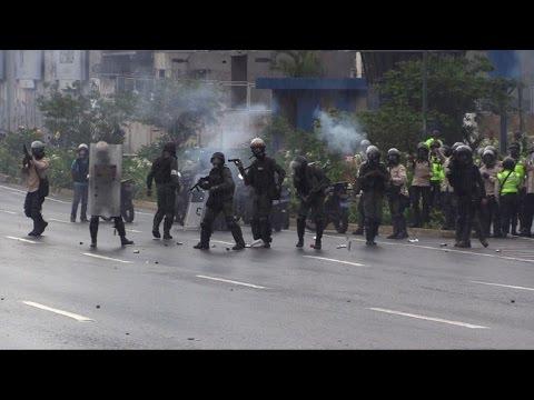 Venezuela: Manifestation anti-Maduro à Caracas