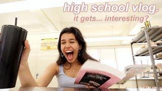 it's senior year! a day at high school vlog *senioritis*