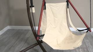 The Ultimate Hanging Air Chair With Steel Stand