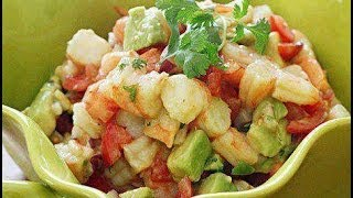 Our #recipe: Lime Shrimp And Avocado Salad Is Our So Refreshing