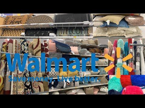 Walmart Home Decor | Decorative Pillows Rugs & Carpets | Shop With Me August 2019