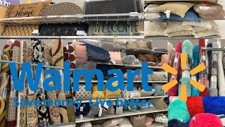 Walmart Home Decor | Decorative Pillows Rugs & Carpets | Shop With Me August 2019