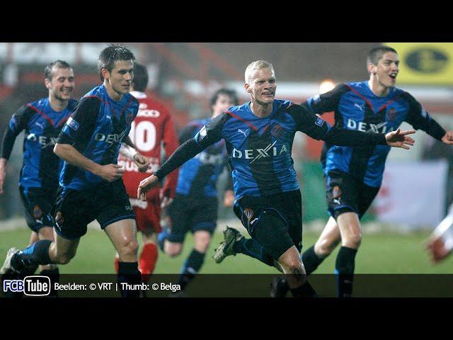 2009-2010 - Jupiler Pro League - 20. KV Kortrijk - Club Brugge 1-4