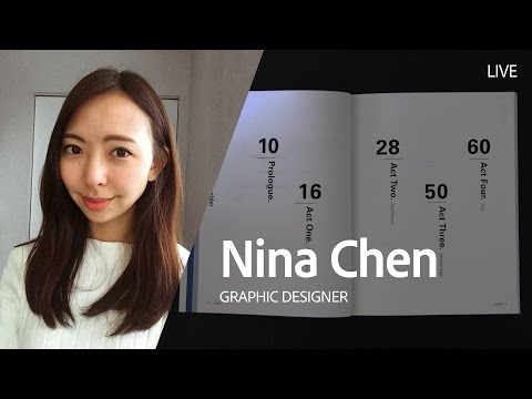 Live Graphic Design with Nina Chen - Day 1/3