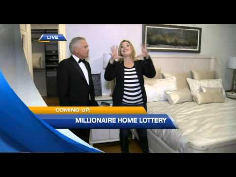 Wayne Cox And Dawn Chubai Tour One Of The Millionaire Designer Home Lottery Grand Prizes Youtube