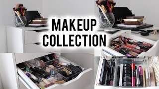MASSIVE Makeup Collection of a 16 Year Old!!??!