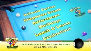 Q-Master Billiards commercial 2016/2017