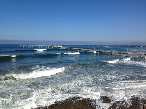 Big Surf Ocean Beach Pier 11-6-2016