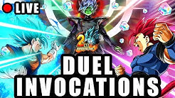 🔴 Duel INVOCATION 2ANS DRAGON BALL LEGENDS vs LUDIVINE pour VEGETTO BLUE
