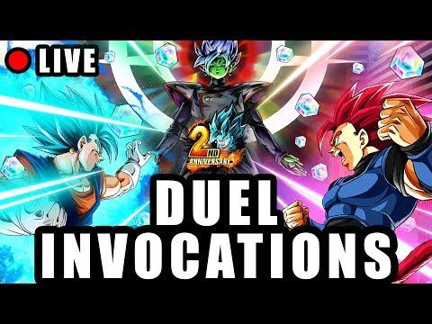🔴 Duel INVOCATION 2ANS DRAGON BALL LEGENDS vs LUDIVINE pour VEGETTO BLUE