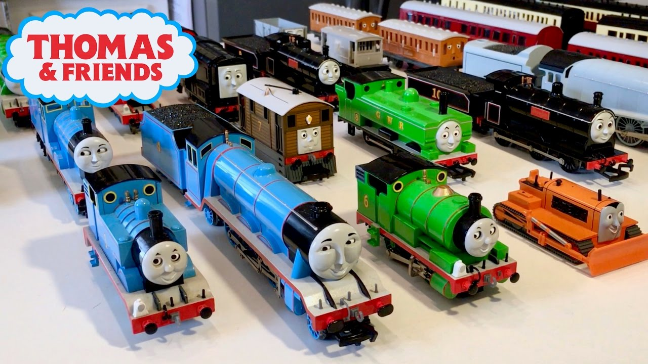 643ce5bea78 Thomas   Friends Train Collection - Bachmann HO Scale - YouTube