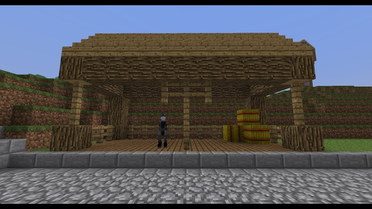 Easy Minecraft: Project Medieval #8 - Horse Stable ...
