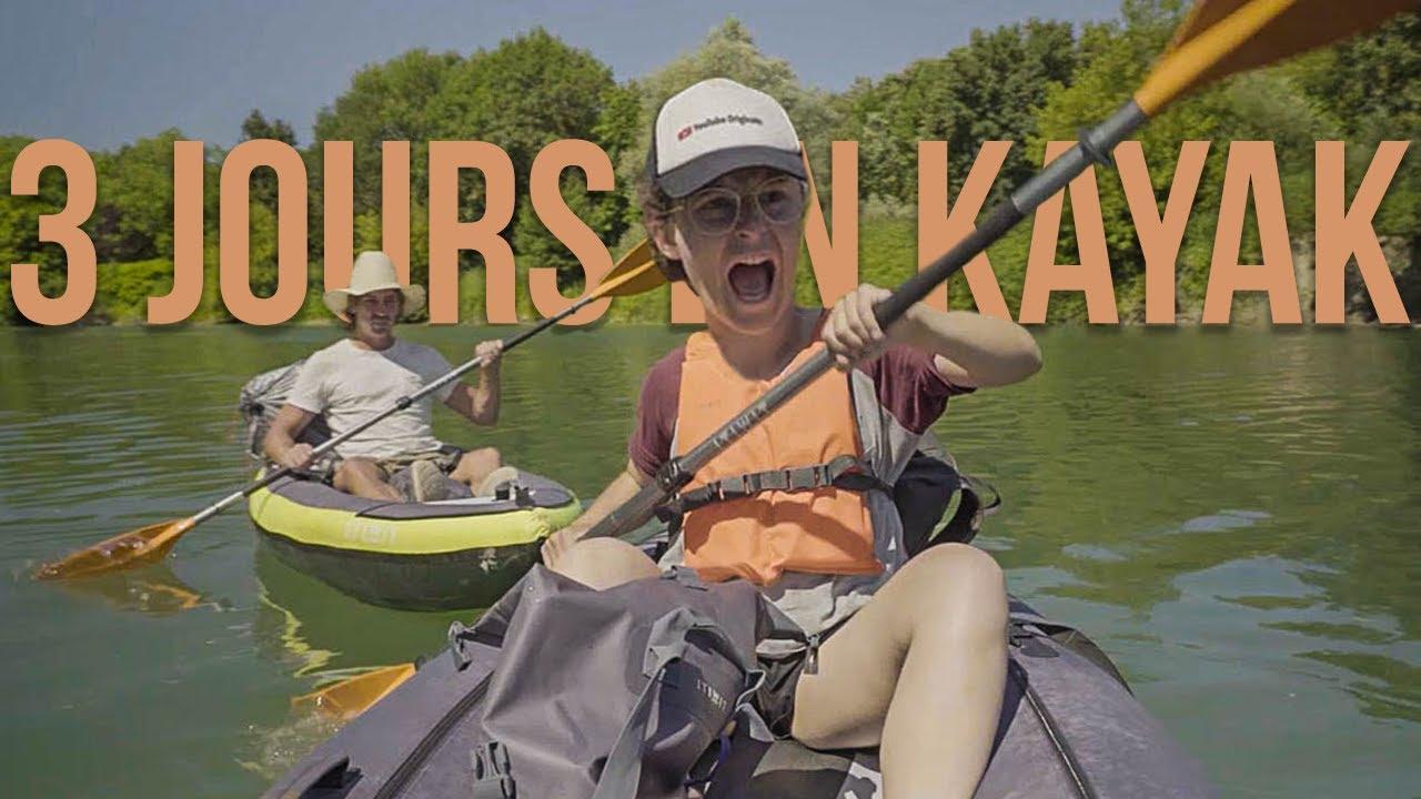 3 Jours pour Descendre un Fleuve en Kayak (c'était dur)