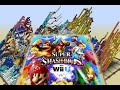 SSB Wii U - 28hour Time-Lapse - Pixel Art with Minecraft Map