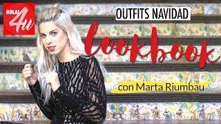 LOOKBOOK: 5 looks de fiesta para Navidad + tips | Con Marta Riumbau
