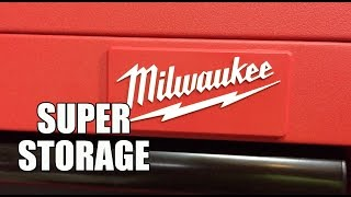 Milwaukee Tool Rolling Steel Storage Chest and Cabinet