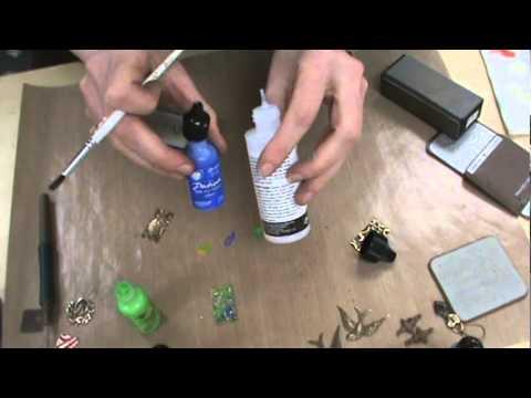 Vintaj Metals, Sizzix Dies & Ranger Ink Patinas Paints by Scrapbooking Made Simple