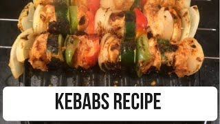 Kebab Recipe - Foreman Grill Recipe