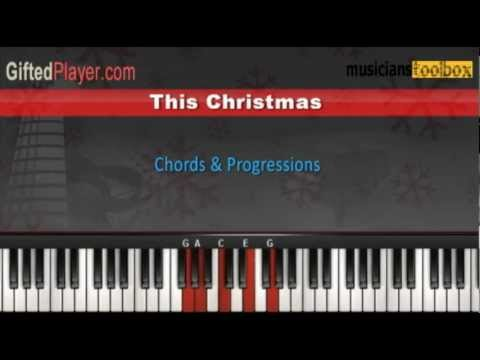 This Christmas - Piano Tutorial