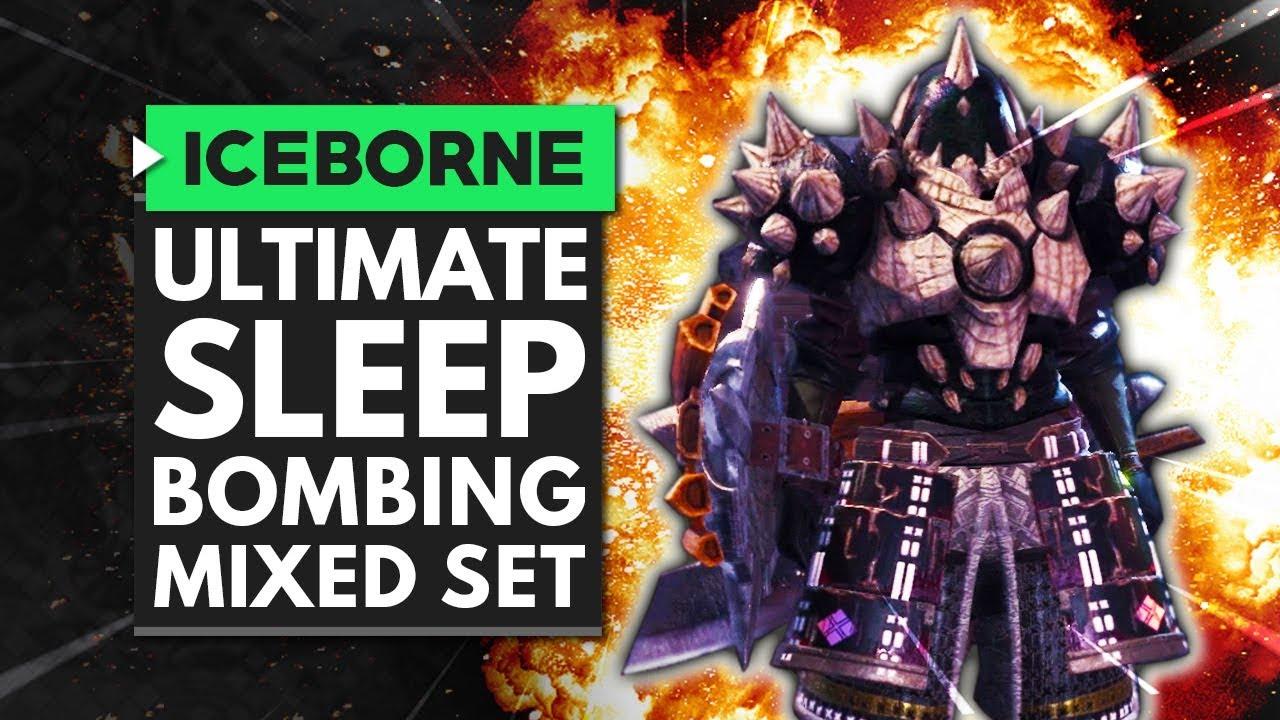 Monster Hunter World Iceborne | The Ultimate Sleep Bombing Mixed Set thumbnail